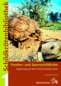 Chelonian Library 1. Leopard- and African Spurred Tortoise Stigmochelys pardalis and Centrochelys sulcata.